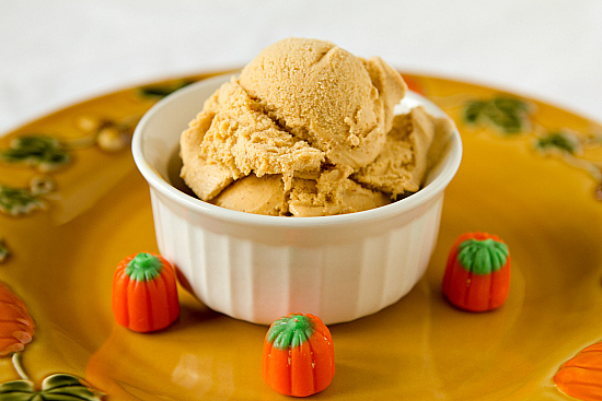 Pumpkin Pie Ice Cream – No Ice Cream Maker Needed! Autumn fun ...