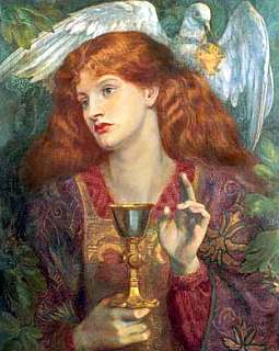 Mary Magdalene and the Holy Grail legend.
