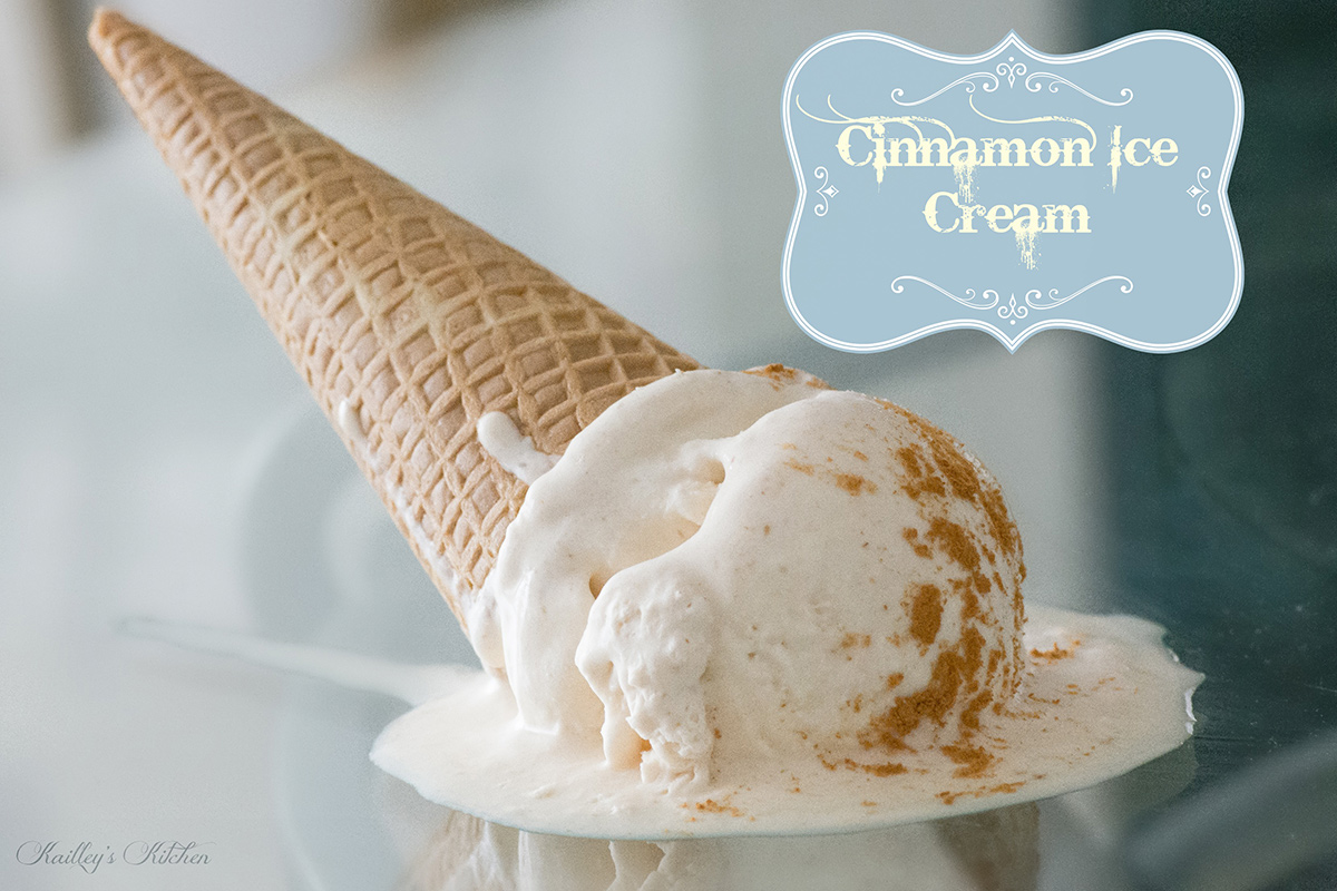 Yummy Cinnamon Ice Cream Recipe (No ice cream machine required ...
